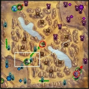 league of legeends map