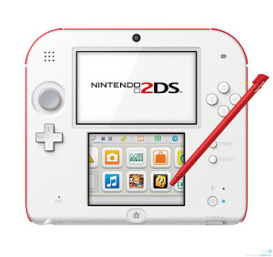 The 2DS is being marketed as a child-friendly alternative to the standard 3DS model