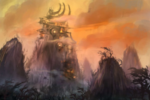 World of Warcraft Warlords of Draenor Concept Art