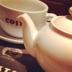 Costa X-Pro II: when has a teapot looked so interesting?