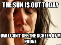 Scientists Finally Develop Phone Screen You Can Use In The Sun