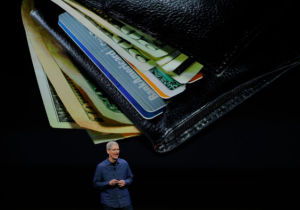 CEO Tim Cook and Apple Pay want to replace your wallet.