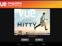 UK's no. 1 Dedicated Film Title Vue Magazine To Launch Tablet App