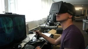 Oculus Rift space sim