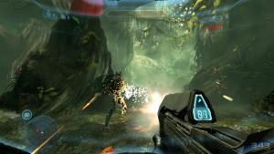Gunplay in Halo 4